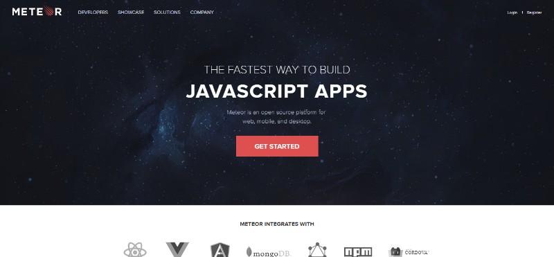 Web Development Frameworks Meteor JS متور جی اس