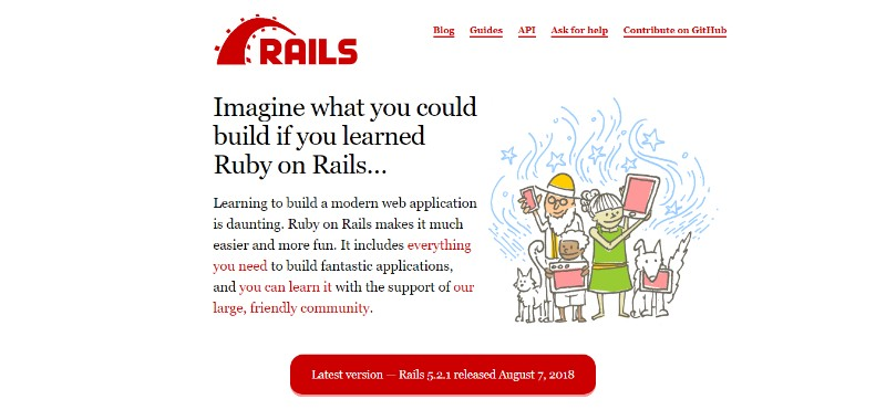 Web Development Frameworks Ruby on Rails روبی - فریمورک