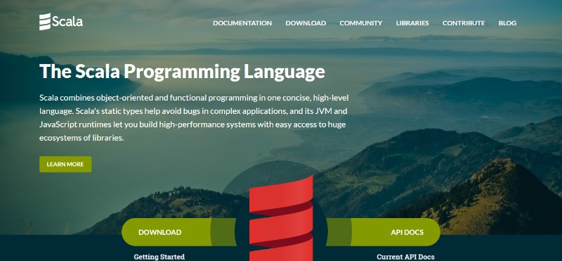 web development technologies programming languages Scala - زبان برنامه نویسی اسکالا