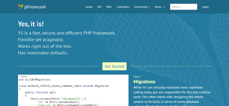Web Development Frameworks Yii - فریمورک یی